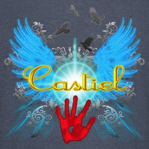New Castiel Wings Vector glow Hoodies - Vintage Sport T-Shirt