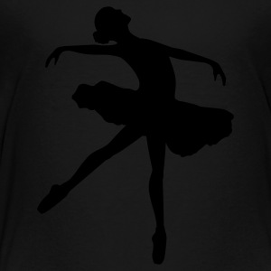 Ballet Dancer Kids' Shirts - Toddler Premium T-Shirt