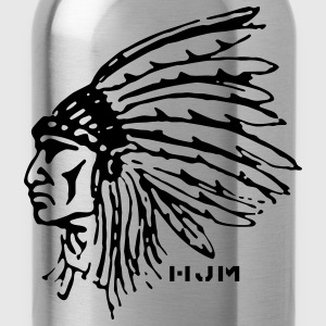 Indian Chief T-Shirts - Water Bottle