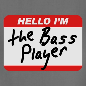 Hello I'm the Bass Player T-Shirts - Adjustable Apron