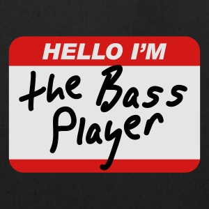 Hello I'm the Bass Player T-Shirts - Eco-Friendly Cotton Tote