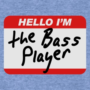 Hello I'm the Bass Player T-Shirts - Women's Wideneck Sweatshirt