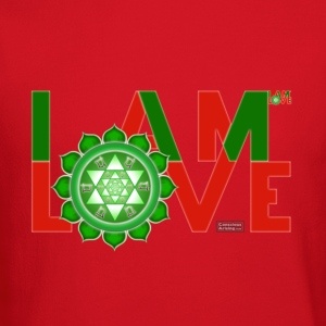 I Am Love - 2-line (Women's - slim-fit tee) - Crewneck Sweatshirt