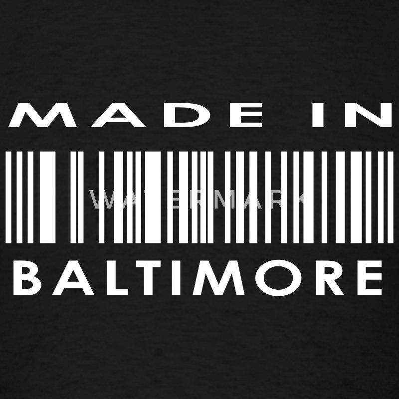 Made in Baltimore  T-Shirts - Men's T-Shirt
