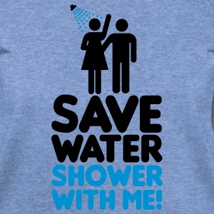 Save water shower with me T-Shirts - Women's Wideneck Sweatshirt