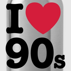 I love the 90's T-Shirts - Water Bottle