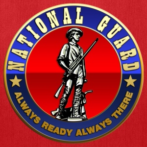 US National Guard (USNG) Emblem - Tote Bag