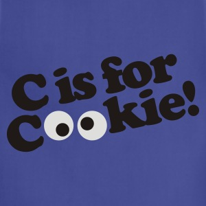 C is for Cookie T-Shirts - Adjustable Apron