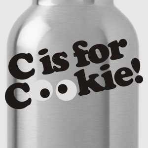 C is for Cookie T-Shirts - Water Bottle