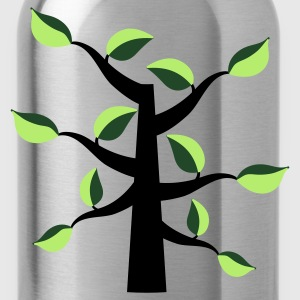 funky leaves tree T-Shirts - Water Bottle