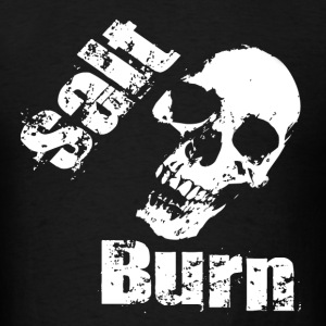 New Salt Skull Burn Hoodies - Men's T-Shirt