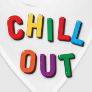 Chill Out Refrigerator Magnets Hoodie - Bandana