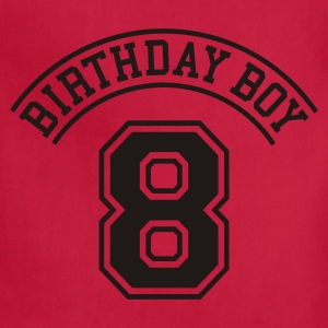 Birthday boy 8 years Kids' Shirts - Adjustable Apron