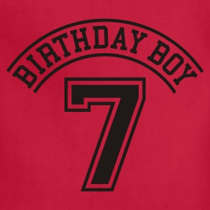 Birthday boy 7 years Kids' Shirts - Adjustable Apron
