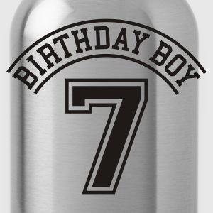 Birthday boy 7 years Kids' Shirts - Water Bottle