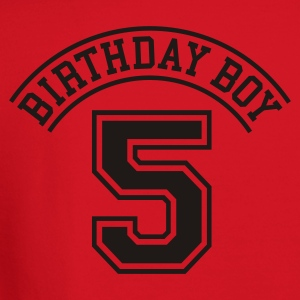 Birthday boy 5 years Kids' Shirts - Crewneck Sweatshirt