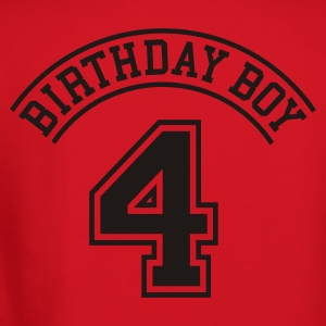 Birthday boy 4 years Kids' Shirts - Crewneck Sweatshirt