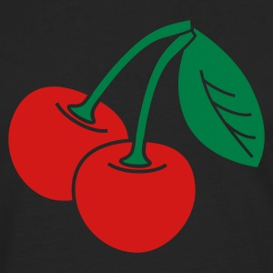 cherries v2_2_color - Men's Premium Long Sleeve T-Shirt