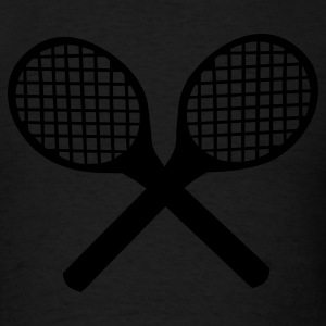 Tennis Rackets Long Sleeve Shirts - Men's T-Shirt
