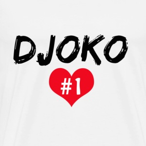 Djoko number 1 Hoodies - Men's Premium T-Shirt