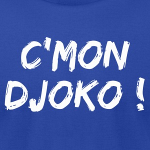Come on Djoko ! Hoodies - Men's T-Shirt by American Apparel