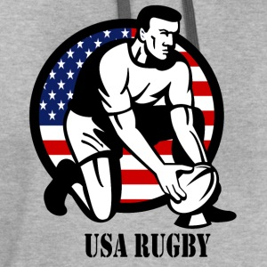 Rugby USA - Contrast Hoodie