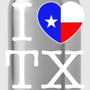 I Heart Texas Hoodie - Water Bottle