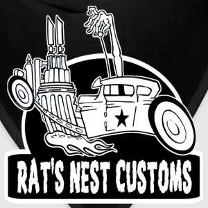 Rat's Nest Customs Shirt - Bandana