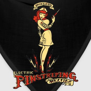 Painless Electric Pinstriping Shirt - Bandana