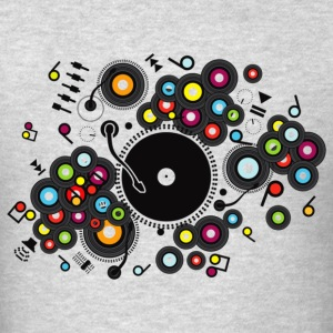 Funny_Record - Men's T-Shirt