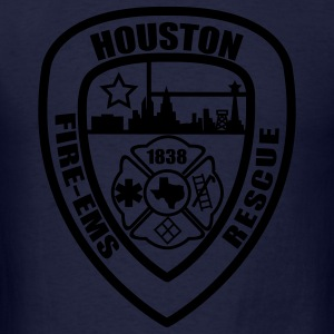 Houston Fire Department Hoodie - Men's T-Shirt