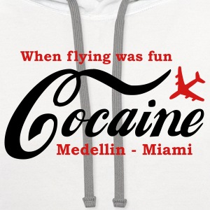 When flying was fun T-Shirts - Contrast Hoodie