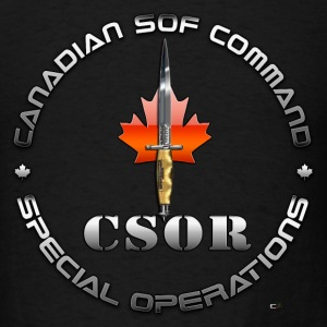 Canadian Special Operations Regiment (CSOR)  - Men's T-Shirt