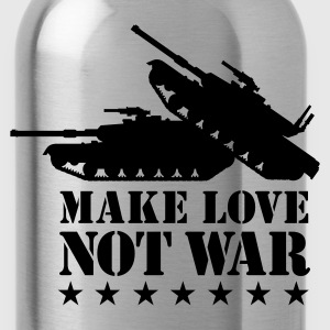 Make love not war 1clr T-Shirts - Water Bottle