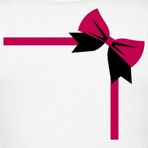 bow package on a rectangle birthday gift Long Sleeve Shirts - Men's T-Shirt