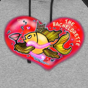 Hen night Fish  - Colorblock Hoodie