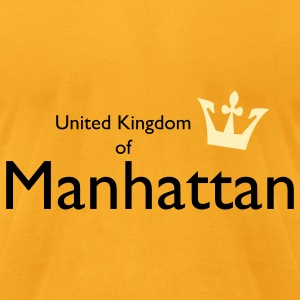 United Kingdom of Manhattan Bags  - Men's T-Shirt by American Apparel