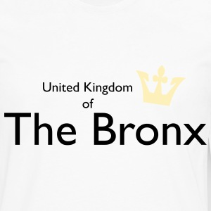 United Kingdom of The Bronx Kids' Shirts - Men's Premium Long Sleeve T-Shirt
