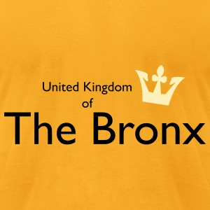 United Kingdom of The Bronx Bags  - Men's T-Shirt by American Apparel