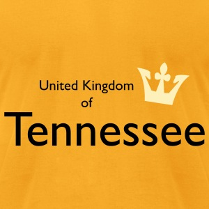 United Kingdom of Tennessee Bags  - Men's T-Shirt by American Apparel