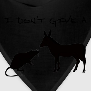 I Don't Give A Rat's Ass - Bandana