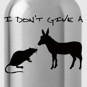 I Don't Give A Rat's Ass - Water Bottle