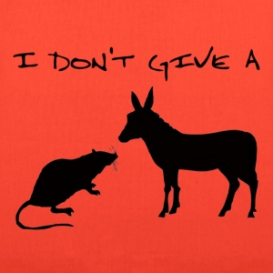 I Don't Give A Rat's Ass - Tote Bag