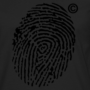 © Fingerprint Kids' Shirts - Men's Premium Long Sleeve T-Shirt
