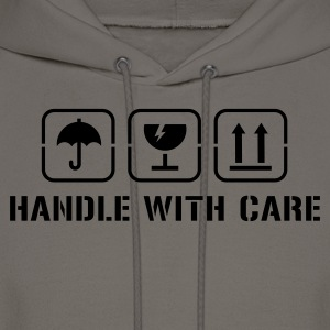 Handle with care T-Shirts - Men's Hoodie