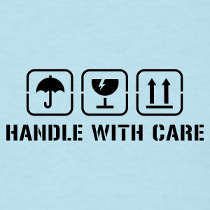 Handle with care Baby Bodysuits - Men's T-Shirt