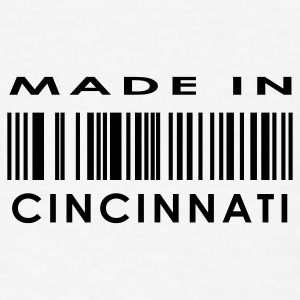 Made in Cincinnati  Buttons - Men's T-Shirt