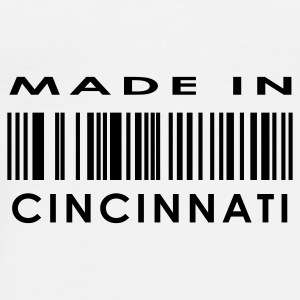Made in Cincinnati  Buttons - Men's Premium T-Shirt