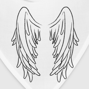 angel wing B Hoodies - Bandana
