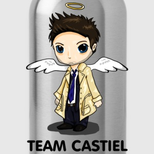 Team Castiel (light) T-Shirts - Water Bottle